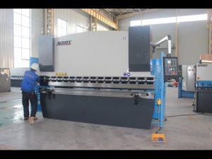 125Tシートメタル曲げ機6mm、中国用油圧プレスブレーキWC67Y  -  125T 3200