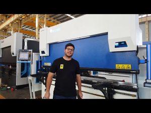 オーストラリアの顧客からのWilaクランプシステム付き6軸CNCプレスブレーキEuro Pro B32135