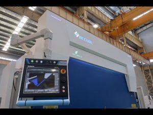 8軸CNC油圧プレスブレーキ110トン3200mm