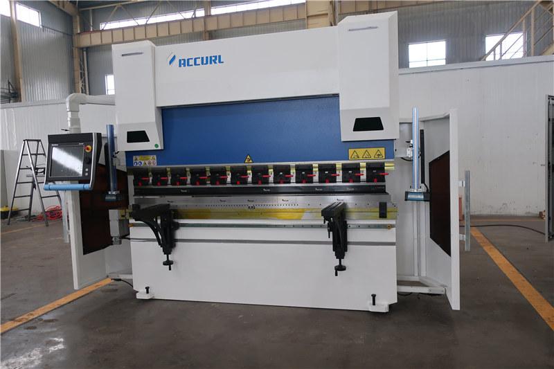 ACCURL CNCプレスブレーキDA66T 4axis 2500mm