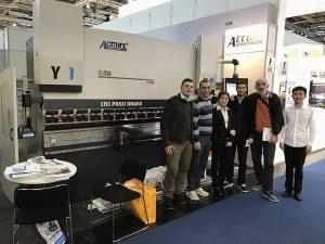 Accurlは2016年にドイツの展覧会に参加しました