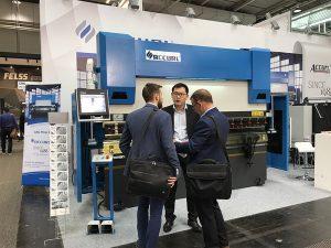 Accurlは2017年にドイツのハノーバー国際工作機械展に参加しました