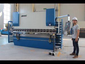 CE 2軸CNCプレスブレーキ130Tx3200 E200 NC制御システムNCプレスブレーキマシン