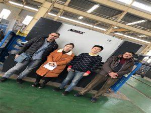 エジプトの顧客はAccurl社からプレス機械を購入する