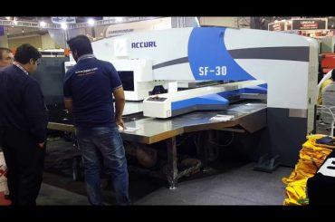 高品質サーボCNC油圧タレットパンチプレス機械
