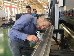 私たちの工場でイランのクライアントテストマシン2
