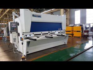 ELGO P40T CNCシステムを使用したマスター可変レイクギロチンシャーリングマシン