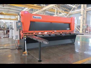 CNC油圧ギロチン剪断機付きマスタ変数レーキMS8-10x4000mm