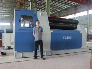 タイの顧客はAccurl CompanyからW12ローリングマシンを購入する