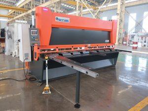QC11y K-4X2500板金鋼製油圧式ギロチン剪断機