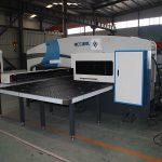 シーメンスシステムcncタレットパンチ機、自動穴あけ機CNCパンチプレス価格