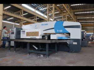 CNC油圧タレットパンチプレス、30トンcncパンチプレス機