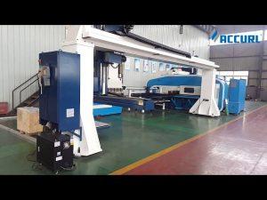 ガントリースタイル5軸CNCプレスブレーキロボット曲げ/タレットパンチプレス