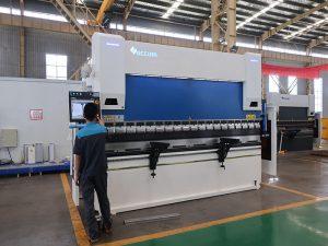CNC制御システムによるプレスブレーキ