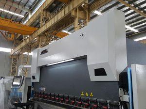 サーボ電気55トンcncプレスブレーキ機器5年間の保証付き